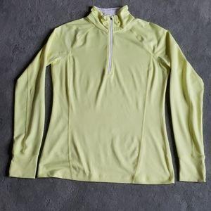 EUC Tek Gear Sz M neon yellow jacket